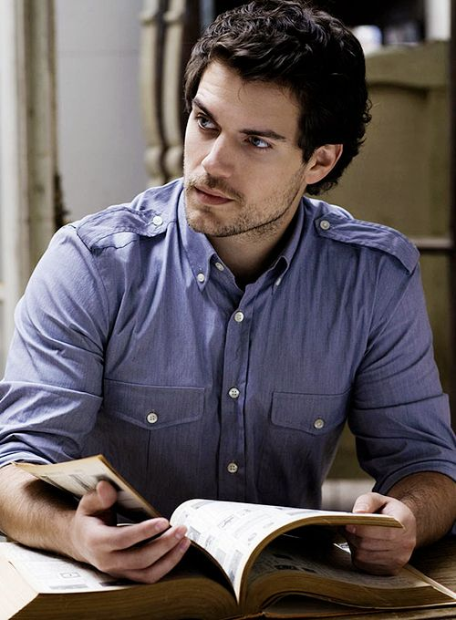 Even if it's the phonebook Henry Cavill makes it sound so sexy.