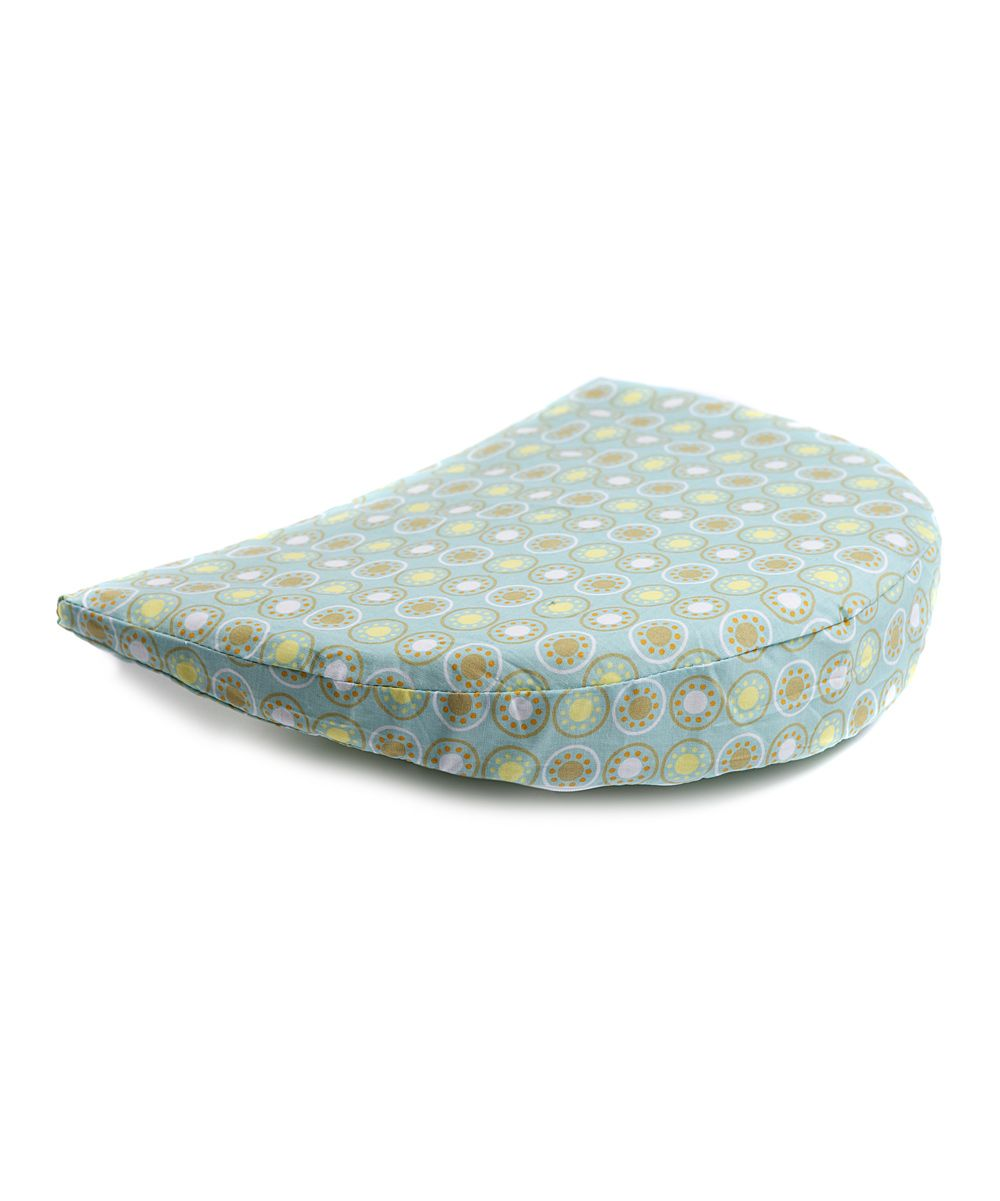 our brand new memory pregnancy wedge pillow sits between the
