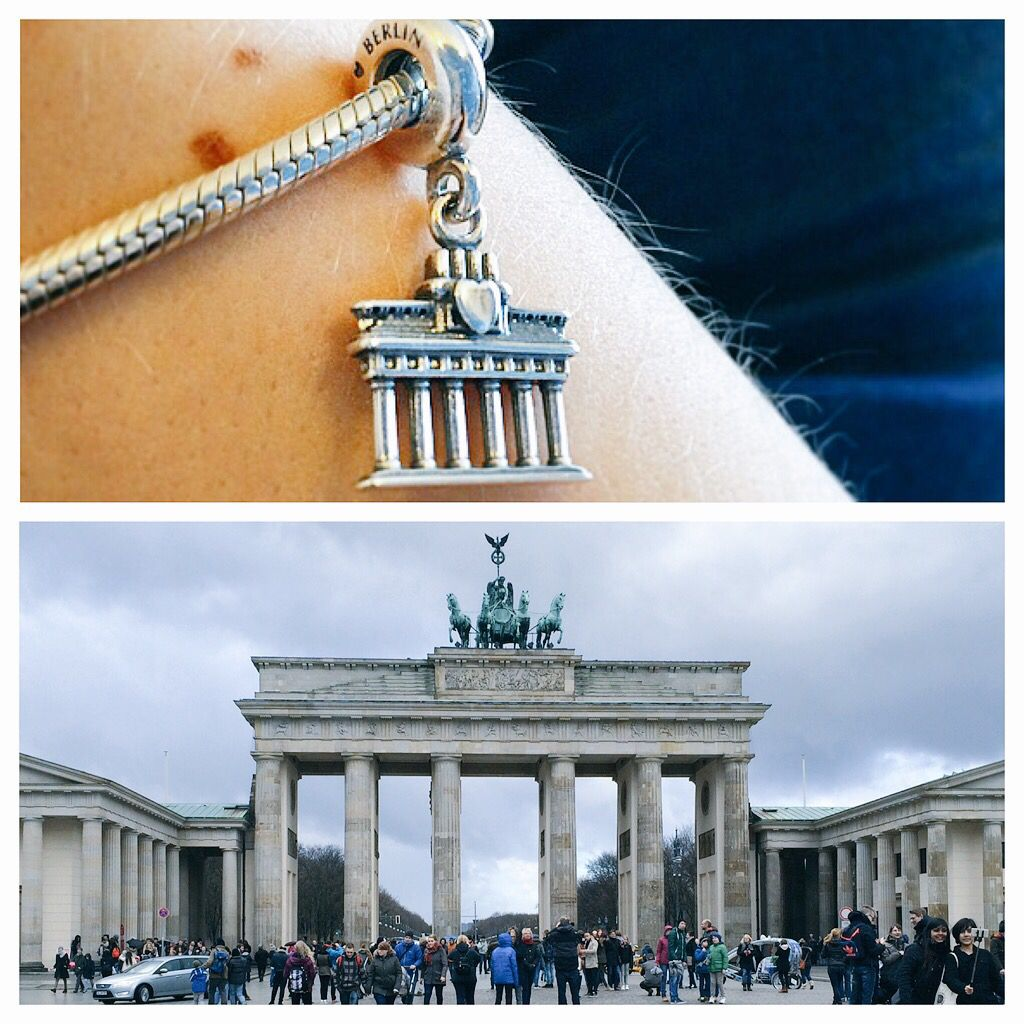 My Pandora Brandenburg Gate Charm From Our Visit To Berlin Pandora Travel Charms Pandora Travel Travel Charms