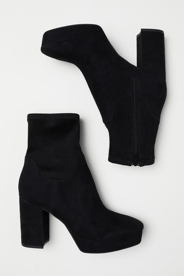 Platform Boots - Black - Ladies | H&M US