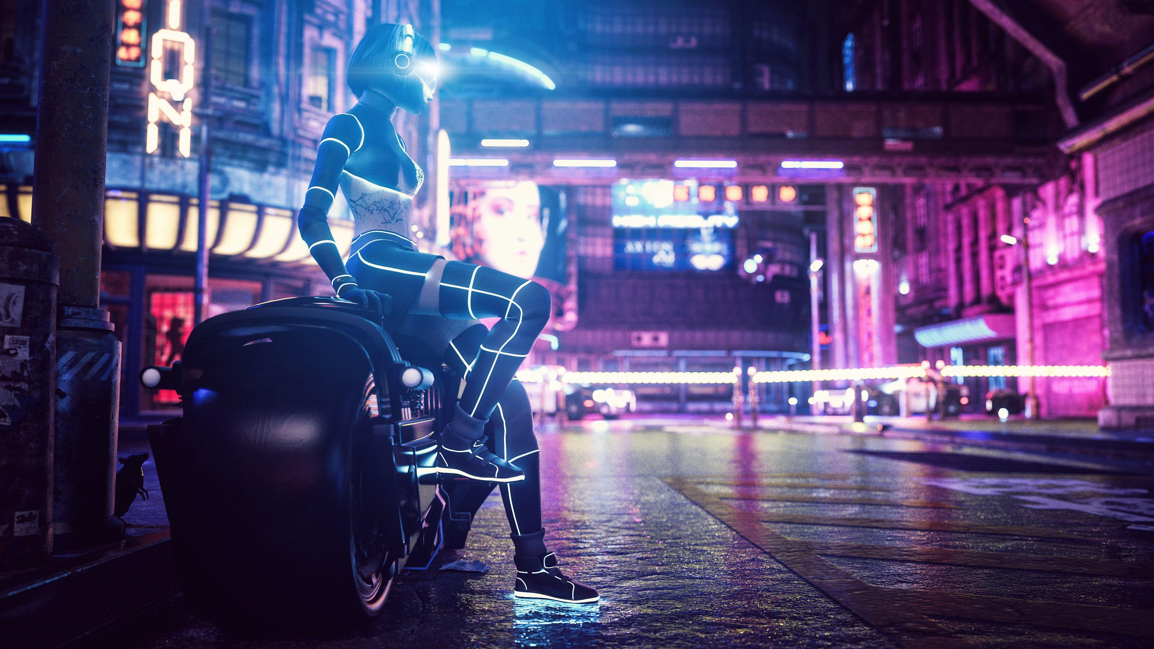 Digital Digital Art Artwork Illustration Futuristic Futuristic City Cyber Cyberpunk Lights City City Ligh In 2020 Futuristic City City Wallpaper Neon Wallpaper