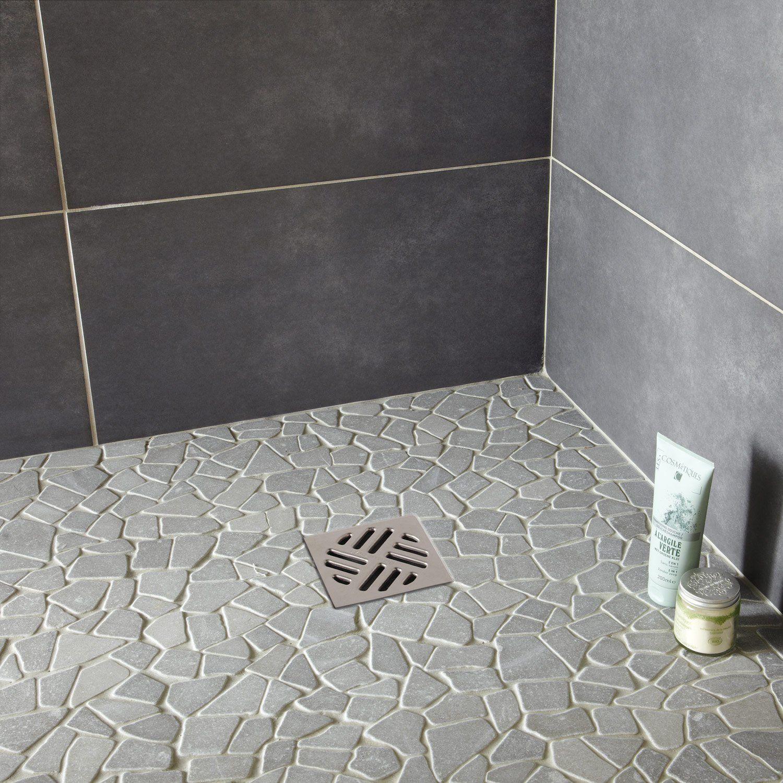 Galets Sol Et Mur Opus Gris Idee Per Il Bagno Stile Bagno Doccia