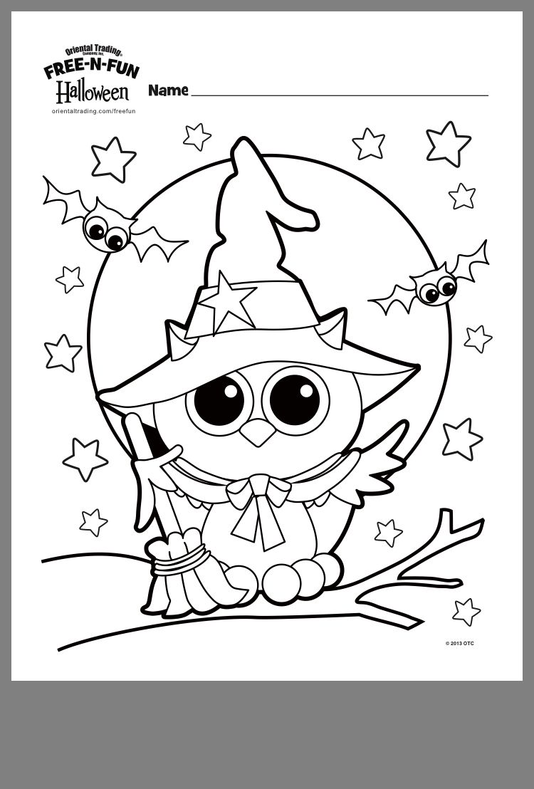Pin By Peggy Gerbus On Halloween Halloween Coloring Sheets