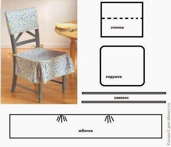moldes de forros para sillas de comedor | Tapices | Pinterest | Crafts