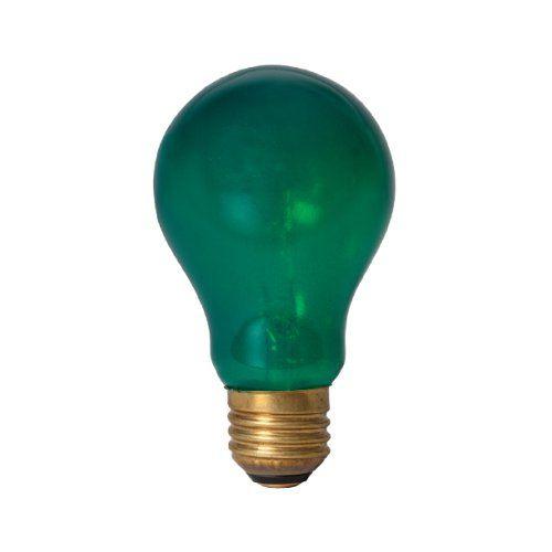 Smart Electric 115 Emergency Flasher 25watt Alert Bulb With Standard Base Socket Green