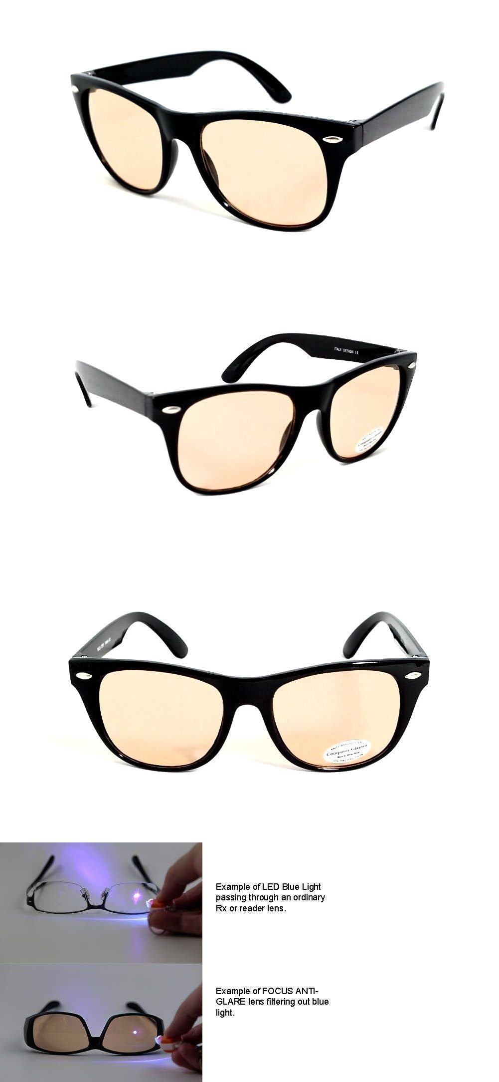 43298f8ce2a67 Accessories 179245  Focus Anti-Glare Computer Glasses Reduces Blue Light  And Eye Fatigue Black Frame -  BUY IT NOW ONLY   10.49 on  eBay   accessories  focus ...