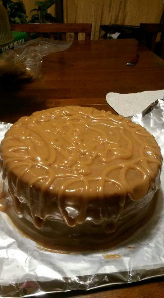 Caramel Cake With Butter Caramel Icing Using Sweetened Condensed Milk Dessert Recipes For Kids Dessert Cake Recipes Food Videos Desserts