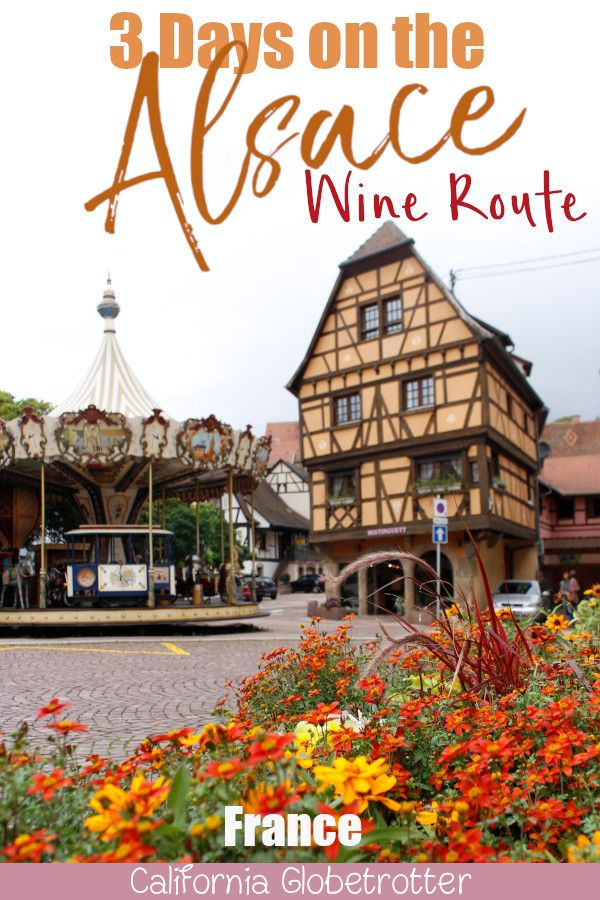 3 Day Alsace Wine Route Itinerary