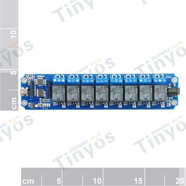 Details about 8 Channel USB/Wireless 5V Relay Module WIFI Remote