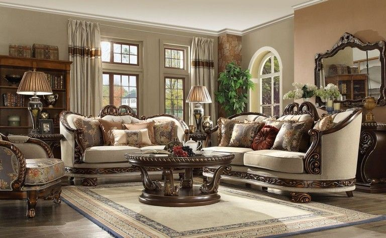 45 Fancy Victorian Sofa Ideas For Elegant Living Room