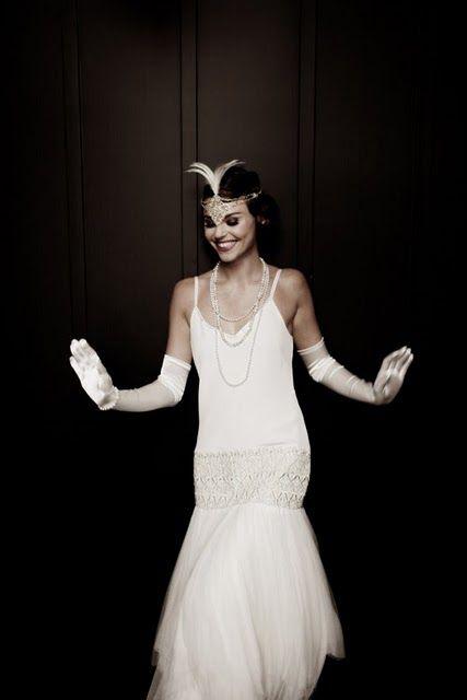Mariages R Tro Robes De Mari Es Style Ann Es 20 30 Ann Es Folles Soir E 6 Juin Pinterest