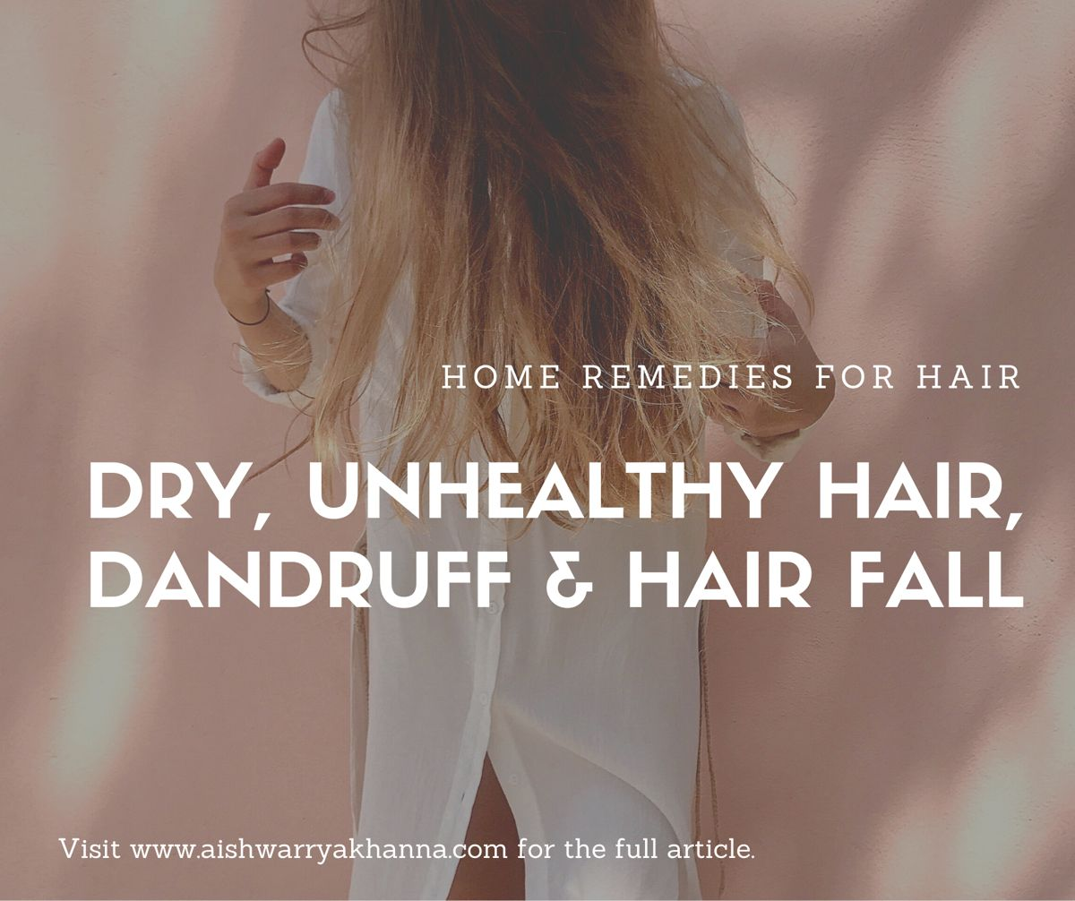 Home Remedy For Hair Problems Hair fall remedy, Fall
