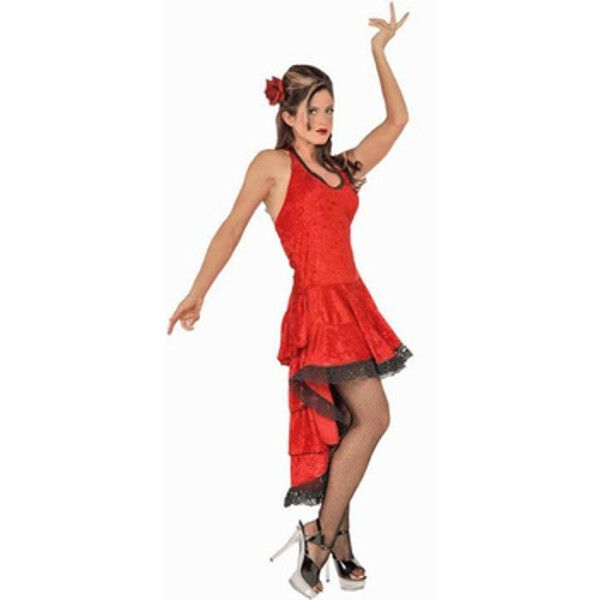 Adult Deluxe Flamenco Dancer Costume  sc 1 st  Pinterest : flamenco halloween costumes  - Germanpascual.Com