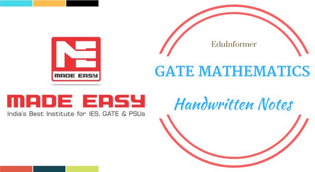 GATE Made Easy Engineering Mathematics PDF Download   Pdf   Pdf