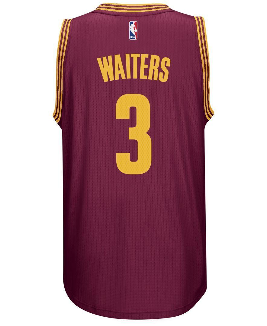 outlet store sale e6138 99f40 adidas Men's Dion Waiters Cleveland Cavaliers Swingman ...