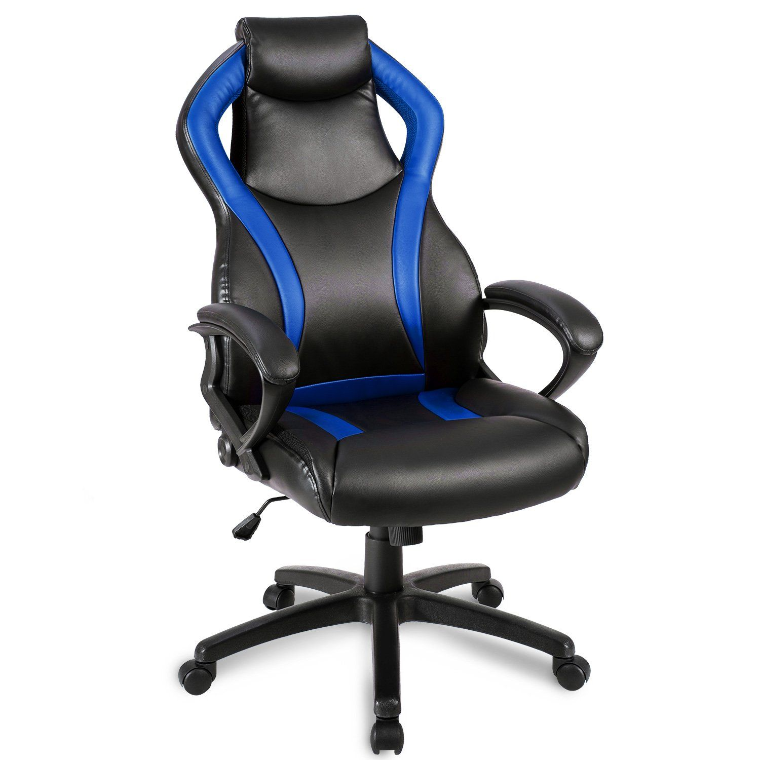 Merax Racing Style Leather Gaming Chair fice Desk Chair Pu
