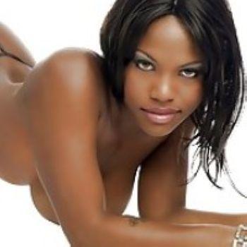 Ebony ass lick