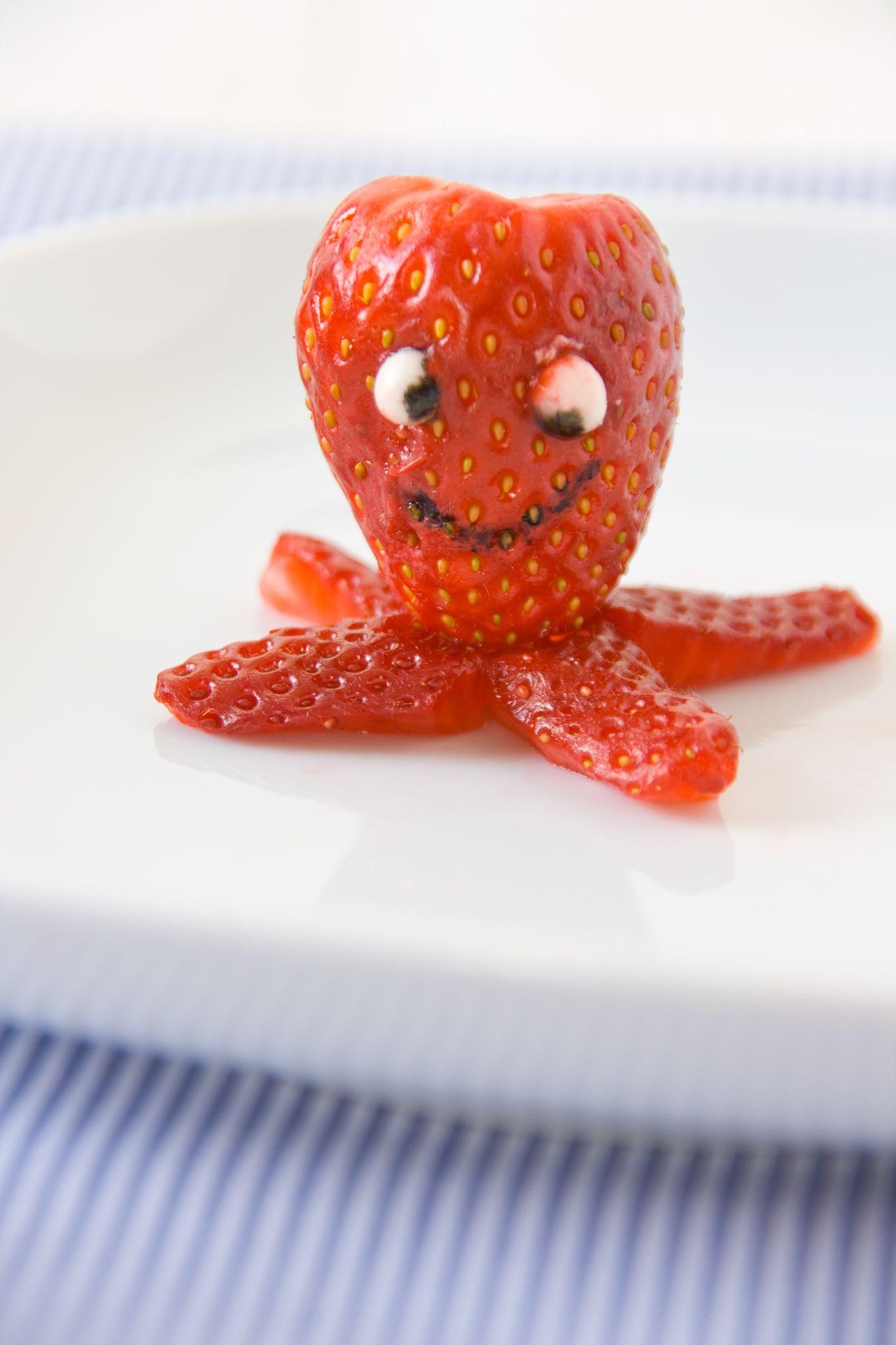 decoración - pulpo-fresa | cocina | Pinterest | Ciencia para niños ...