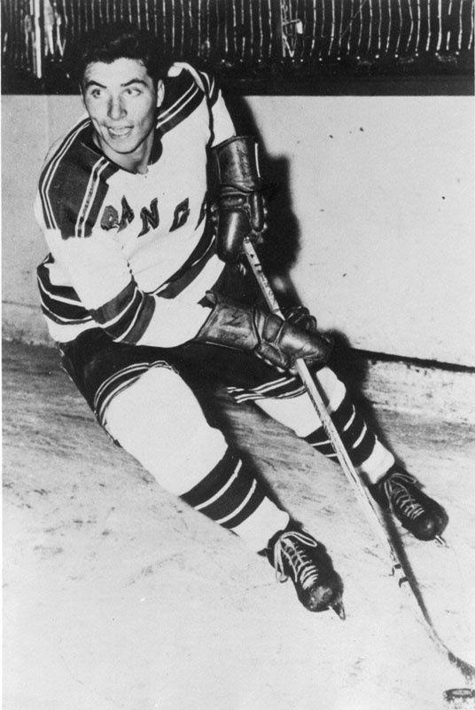 Andy Bathgate - New York Rangers Hockey