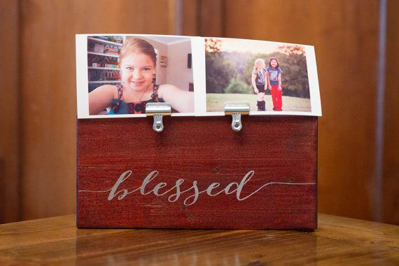 Photo Holder BLESSED Picture Clip Frame | Teachers #housewares ...