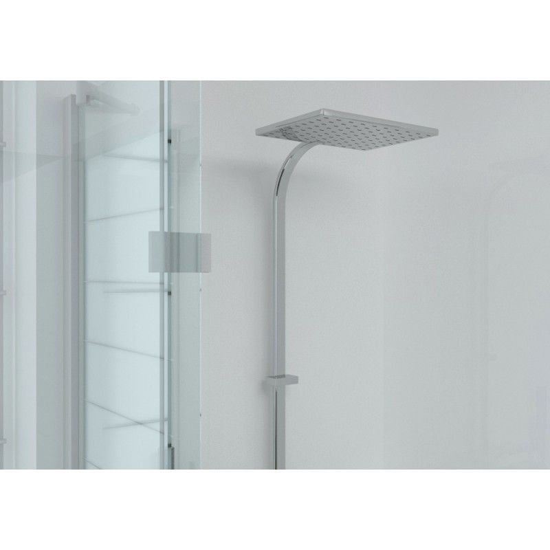 Proclad PVC 3 Wall Shower Kit - Gloss White, Proclad Solid Colour ...