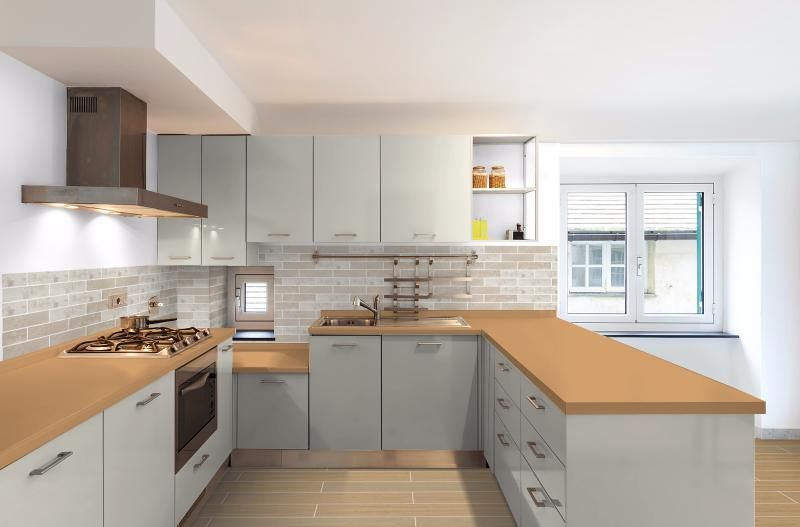 I Used The Topps Tiles Visualiser Hartley Sand In 2019 Topps Tiles Tiles Kitchen Cabinets
