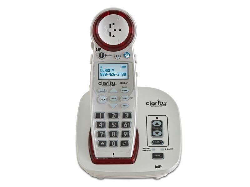 Cordless CID Phone Big Amplified Hearing Impaired DECT