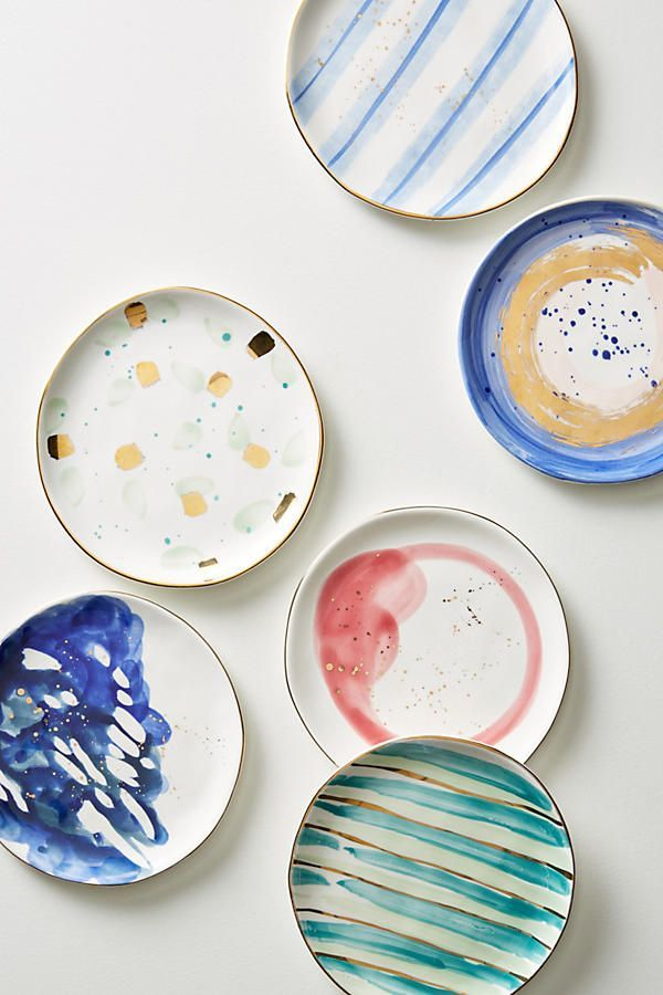 Slide View: 2: Mimira Canape Plate #collectiblesforthehome