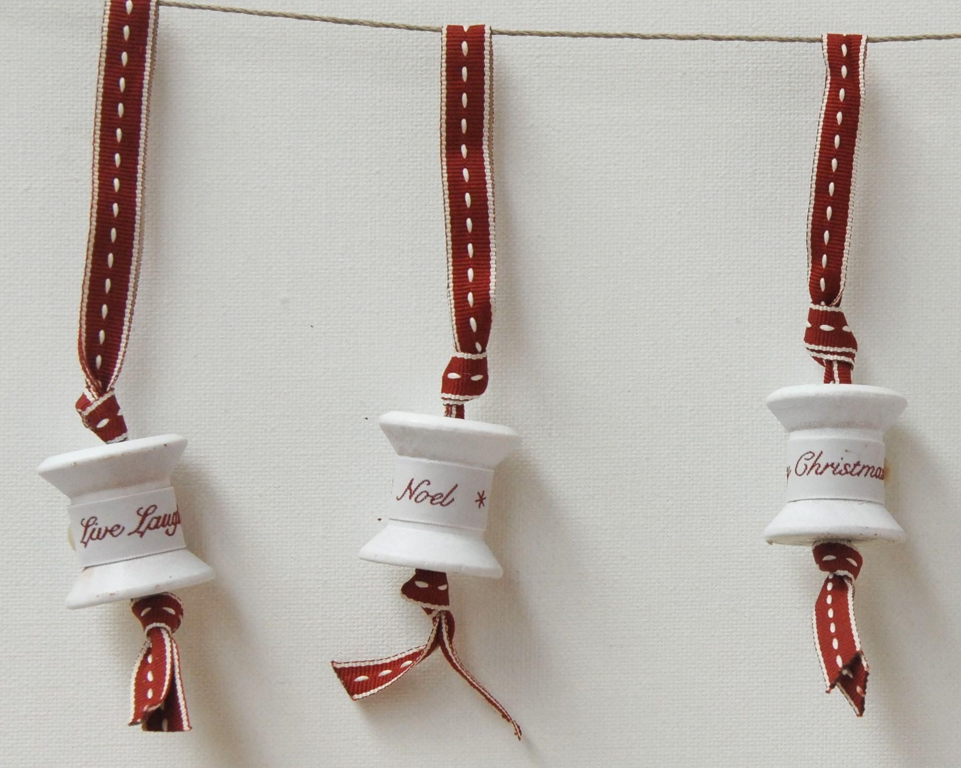 Cotton Reel Decorations