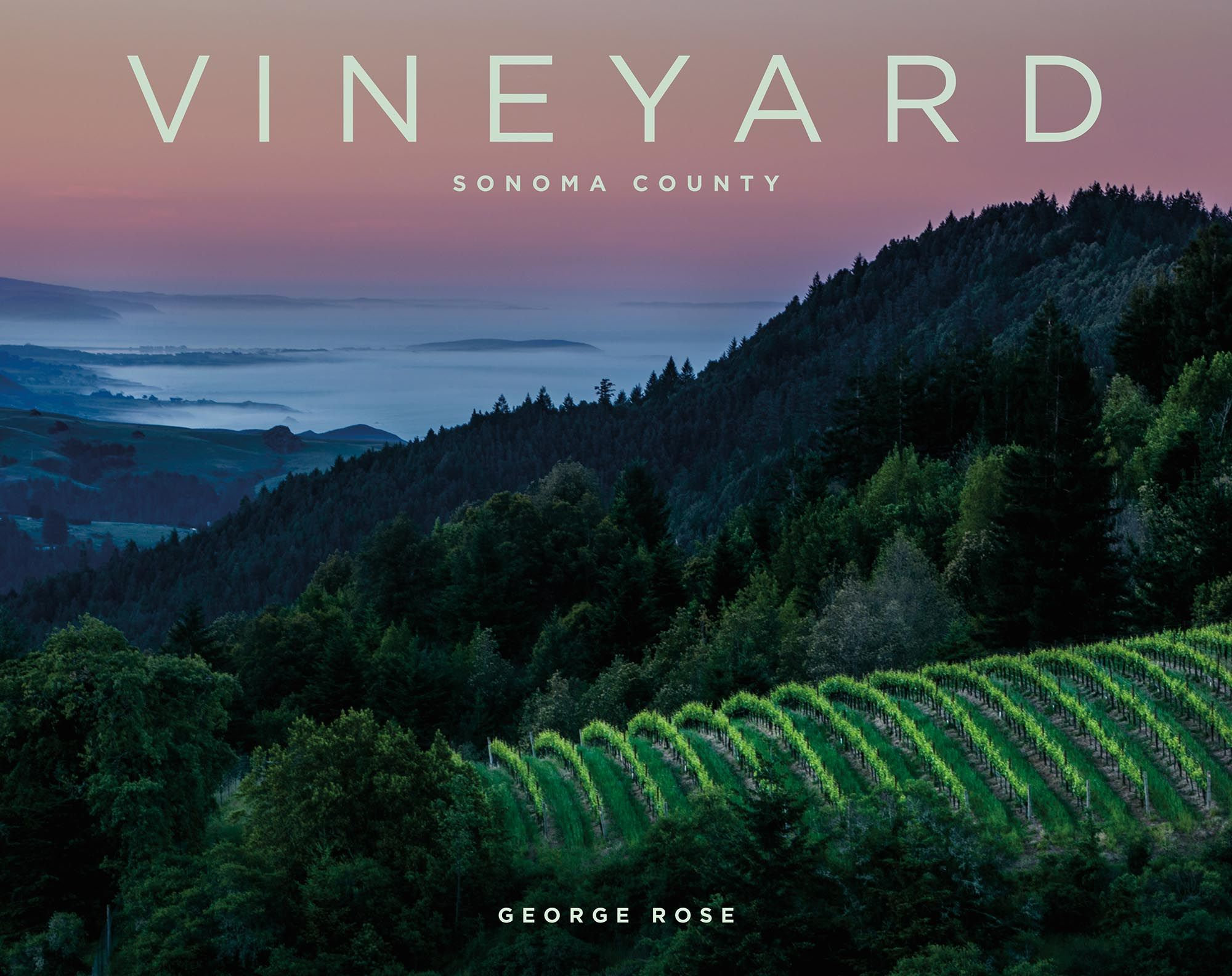 "Introducing ""VINEYARD Sonoma County "" a stunning large format"