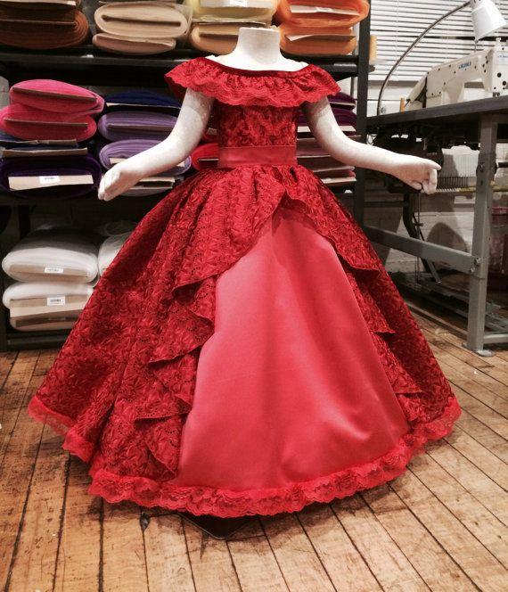 Elena Of Avalor Dress Vestidos De Princesa Para Niñas