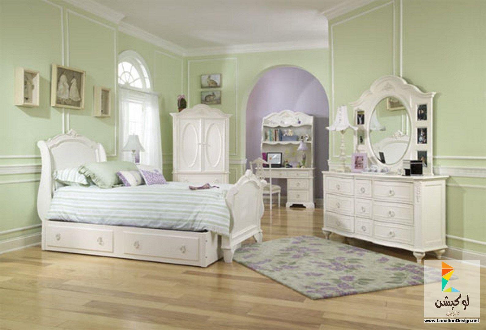 أحدث 10 ديكورات دهانات غرف نوم اطفال باللون الموف لعام 2015 لوكيشن ديزاين تصميمات Childrens Bedroom Furniture Bedroom Furniture Design Girls Bedroom Sets