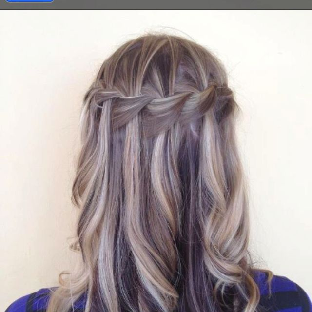 Waterfall Braid From Sharmaines Salon