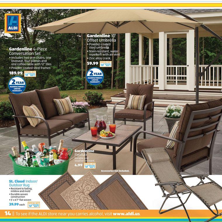 More Summer. More Savings With ALDI. Create A Backyard