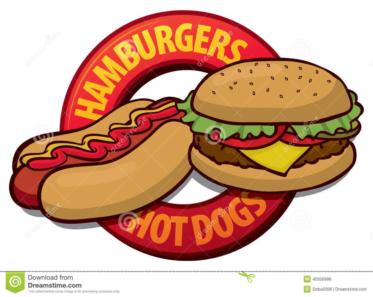 hamburger hot dog clip art open studios pinterest hamburgers and clip art. Black Bedroom Furniture Sets. Home Design Ideas