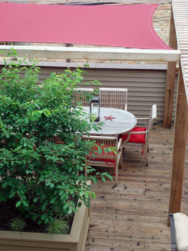 Roof Deck Planters Urban Garden Landscape Design Pergola Shade Sail Pergola Shade Garden Landscape Design Garden Design Layout