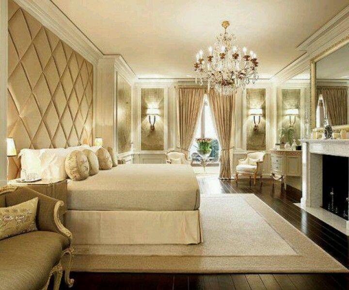 Luxury Master Bedroom With Fireplace Decorative Bedroom Elegant
