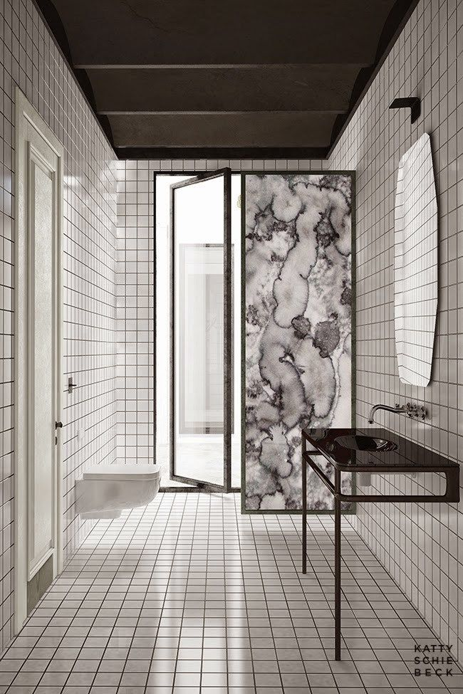 Grid Interior Trend Design Architecture Design Bathroom