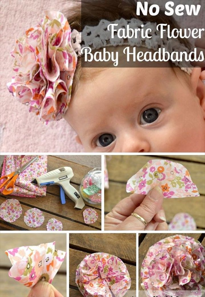 18 DIY Headscarf Ideas For This Summer- Step by Step Tutorials  #babyheadbands
