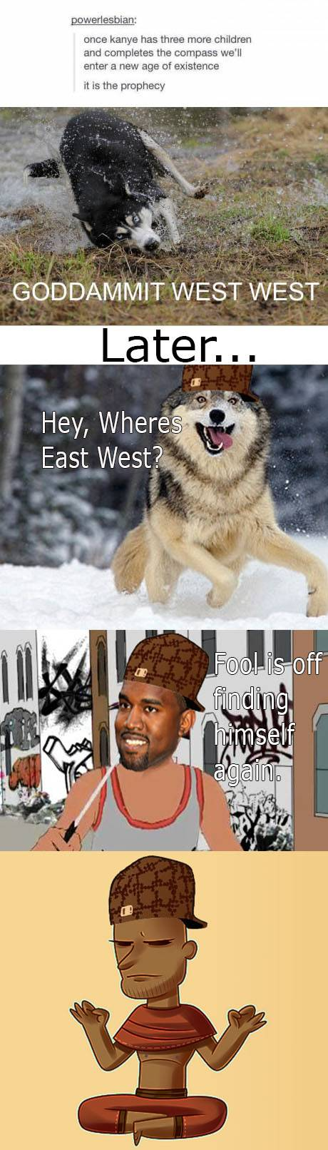 West West and Moon Moon must be cousins