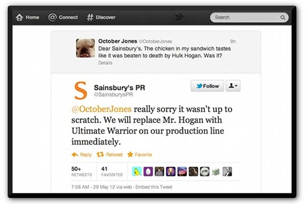 Brilliant Twitter Response From Pr Team Public Relations Words