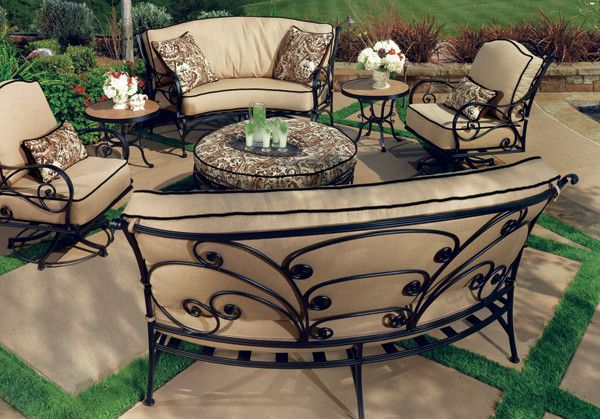 Jack Wills Patio Furniture.With Intricate Scrolls And Hand Forged Bends The Ashbury Collection