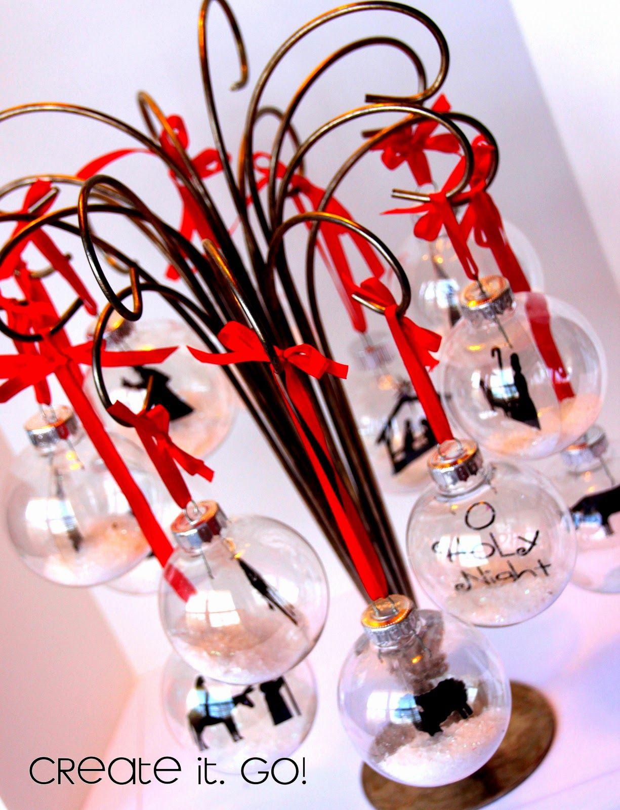 12 Days Of Christmas Nativity Ornament Set Re Do Nativity Ornaments Christmas Ornaments To Make Christmas Nativity