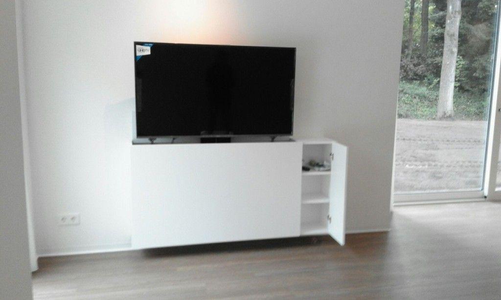 Tv In Kast : Tv kast met lift kopen? bekijk hier de collectie van luuksdesign.nl