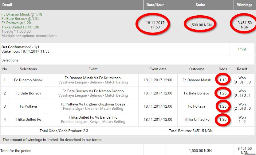 How to win sport betting in nigeria cricket betting wikipedia