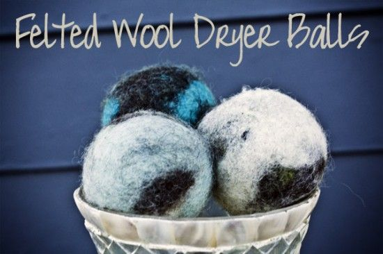 How To Make Felted Wool Dryer Balls Wool Dryer Balls Wool