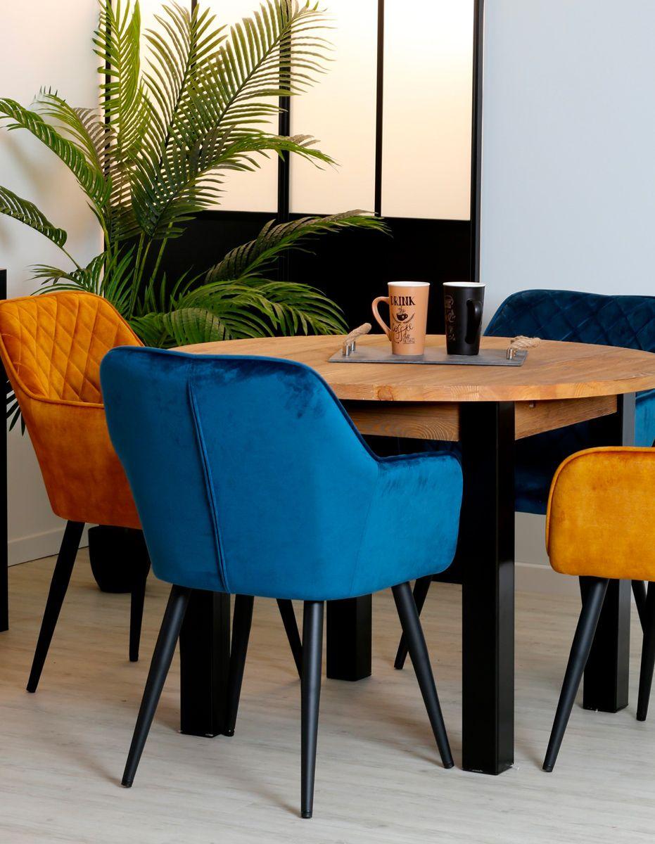 table a manger ronde bois massif 110