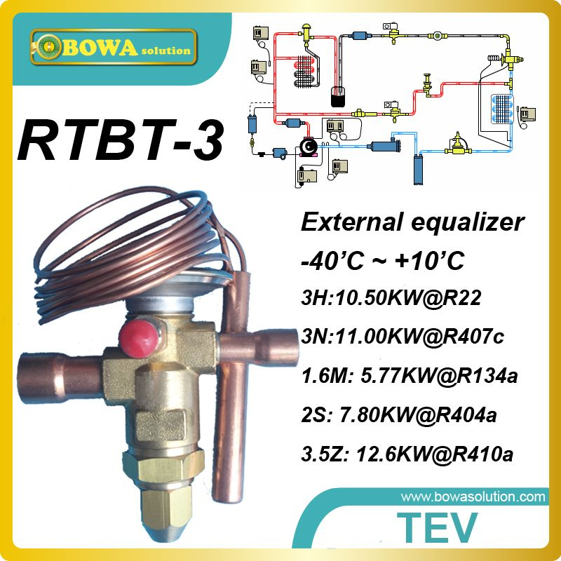 Rtbt 3 Bi Flow Thermostatic Expansion Valves With Solder