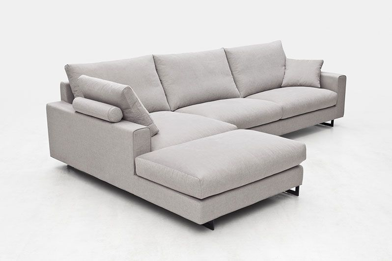 Sofás canapés chaise longue rinc³n abierto y otomana Park de