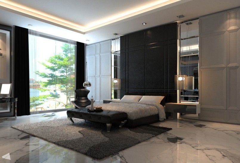 Wow 101 Sleek Modern Master Bedroom Ideas Photos Luxury
